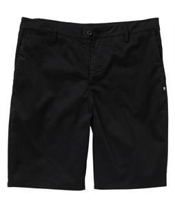 DC Straight Worker Shorts Black