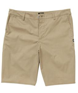DC Straight Worker Shorts Khaki
