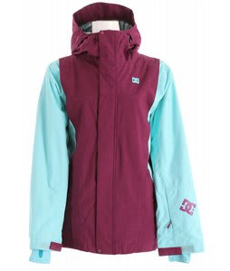 DC Stryo Snowboard Jacket Blue Radiance/Dark Purple