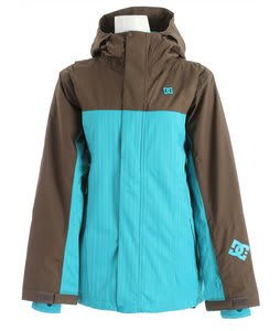 DC Stryo Snowboard Jacket Oak/Lake Blue Space Dye