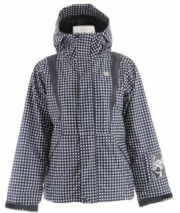 DC Styro Snowboard Jacket Navy Plaid