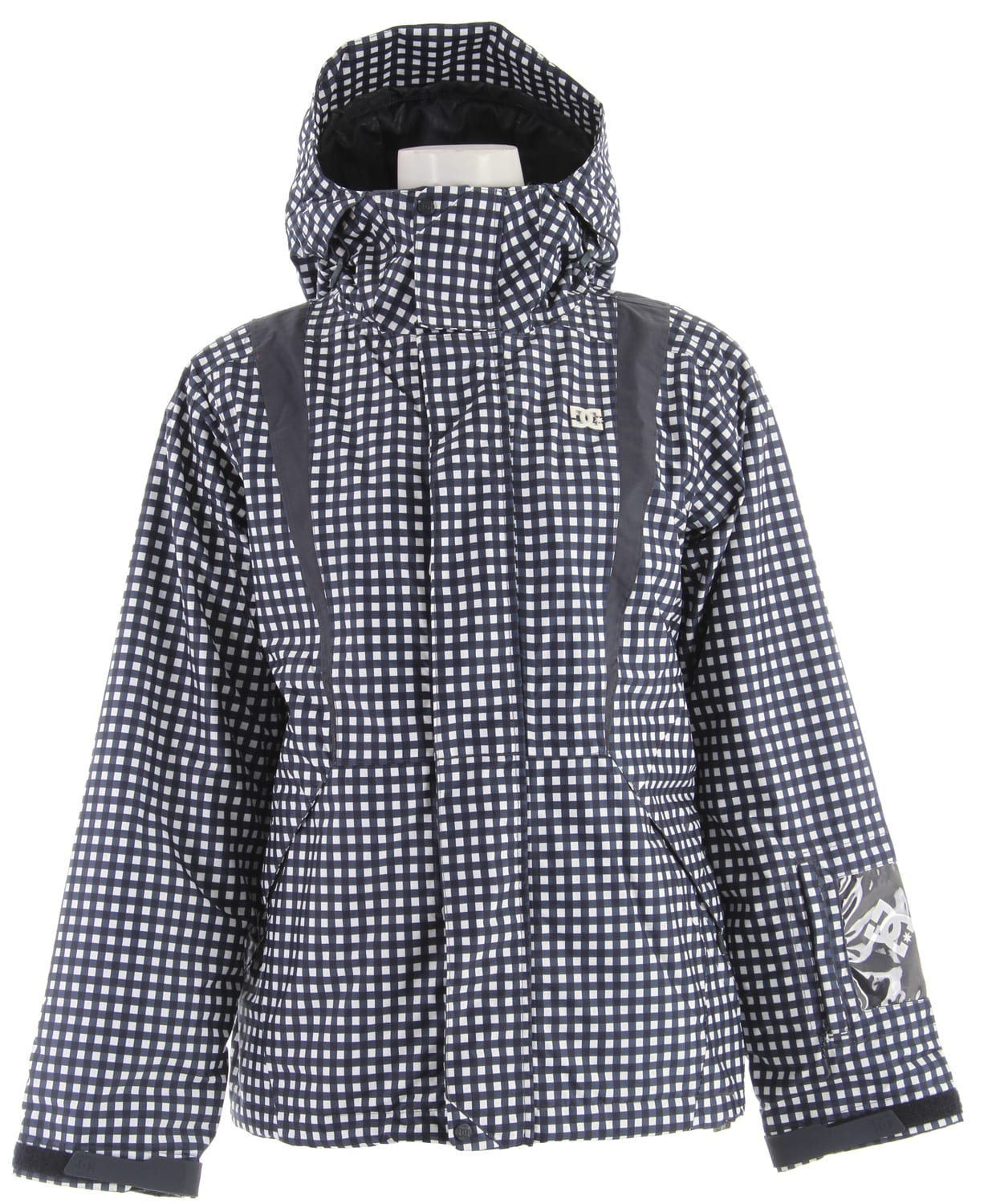 Shop for DC Styro Snowboard Jacket Navy Plaid - Women's