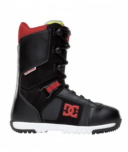 DC Super Park Snowboard Boots Black/Red