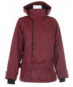 DC Sutton Snowboard Jacket Mono Syrah