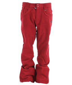 DC Tabor S Snowboard Pants Biking Red