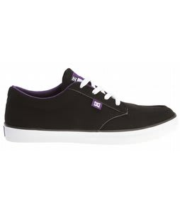 DC Teak S SN Skate Shoes Black/White