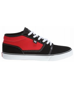 DC Tonik Mid Jr Shoes Black/True Red