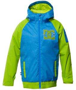 DC Troop Snowboard Jacket Electric Blue Lemonade