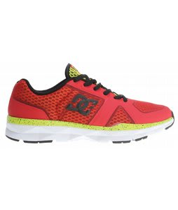 DC Unilite Trainer Shoes Athletic Red/White