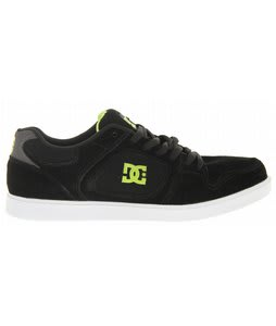 DC Union Skate Shoes Black/Soft Lime