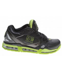 DC Versaflex MG Skate Shoes Black/Soft Lime