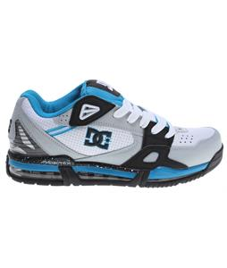 DC Versaflex Skate Shoes White/Grey/Blue