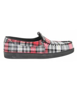 DC Villain TX TP Shoes Black/Red Plaid