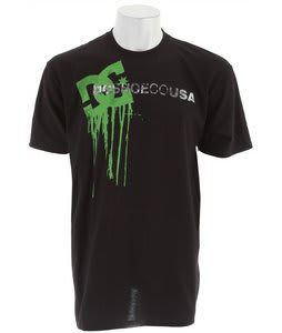 DC Wet Paint T-Shirt Black