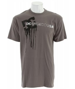 DC Wet Paint T-Shirt Pewter