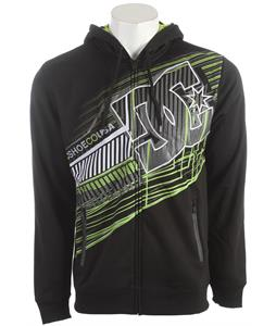 DC Whisky Throttle Hoodie Black
