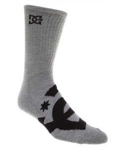 DC Willis Socks Heather/Grey (3 Pack)