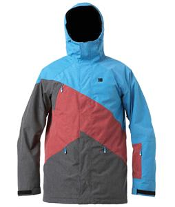 DC Wishbone Snowboard Jacket Blue Jay