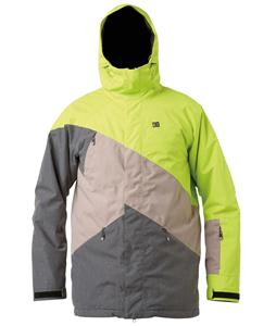 DC Wishbone Snowboard Jacket Lime