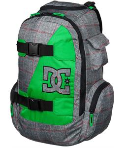 DC Wolfbred Backpack Pewter Plaid