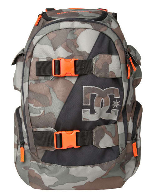 DC Wolfbred Backpack Woodland Camo