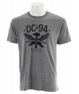DC Worked Up T-Shirt Heather Grey