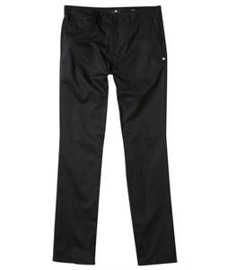 DC Worker Straight Pants Black