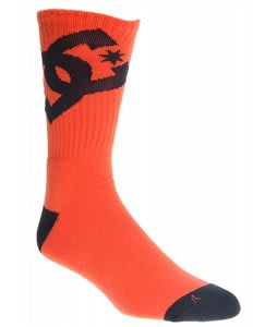 DC Ya Brah 5 Socks Orange