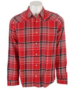 DC Ziprin L/S Shirt Deep Red Plaid