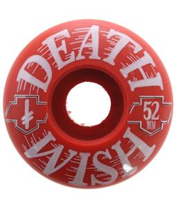 Deathwish Death Kings Skateboard Wheels Red/White 52mm
