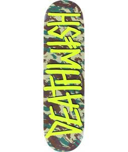 Deathwish Deathspray Camo Skateboard Deck