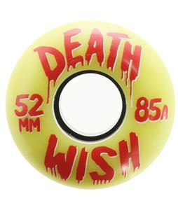 Deathwish Tunnel Vision Skateboard Wheels Yellow/Red 52mm