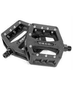 Deco Pc BMX Pedals Black 9/16