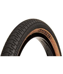 Demolition Machete BMX Tire Black/Tan Sidewall 2.25 x 20