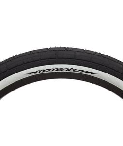 Demolition Momentum Bmx Tire Black/White Sidewall 2.35 x 20in
