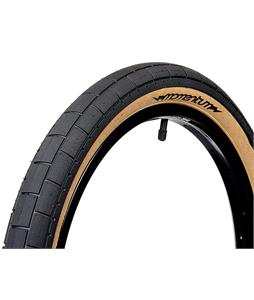 Demolition Momentum BMX Tire Black/Tan Sidewall 2.2 x 20