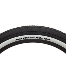 Demolition Momentum Tire Black w/ White Sidewall 2.2in