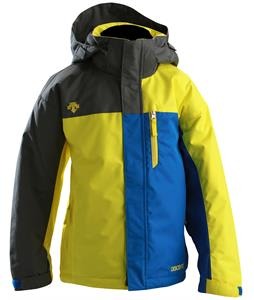 Descente Alex Ski Jacket Yellow/ Blue