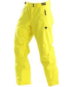 Descente Best Ski Pants Yellow