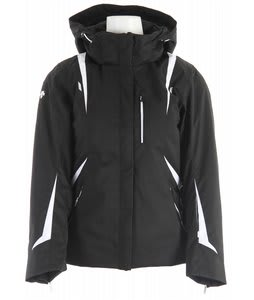 Descente Carrie Ski Jacket Black/Super White