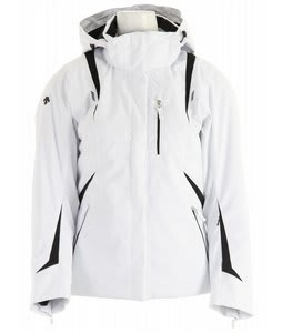Descente Carrie Ski Jacket Super White