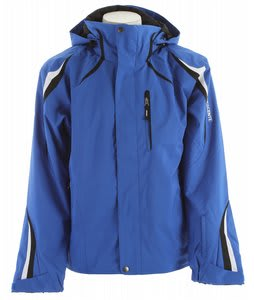 Descente Course Ski Jacket Royal Blue/Black/Super White