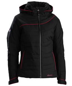 Descente Grace Ski Jacket Black/Violet/Black