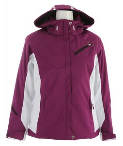 Descente Kelsey Ski Jacket Amethyst/Super White/Amethyst/Black