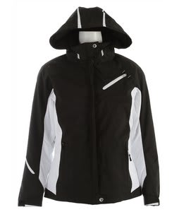 Descente Kelsey Ski Jacket Black/Super White