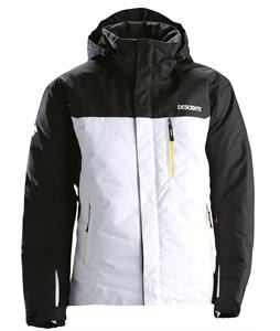 Descente Logan Ski Jacket Black/Super White