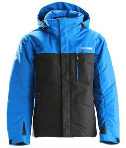 Descente Logan Ski Jacket Blue/Black