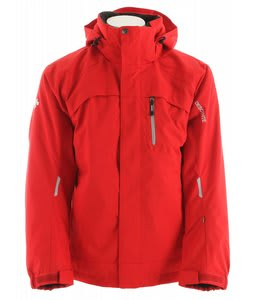 Descente Rio Ski Jacket Ruby/Ruby/Grey Silver