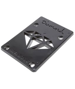 Diamond Risers Black 1/8in