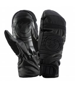 Neff Digger Mittens Black